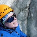 Eiskurs am Taschachhaus - beim Abseilen im Eisbruch