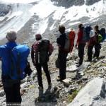 Eiskurs am Taschachhaus - im Gelände unterwegs