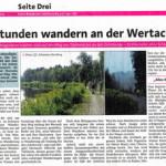 24 Stunden Wanderung im Extra der Memminger Zeitung