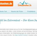 Extremtest Winterstiefel - Magnus Bühl