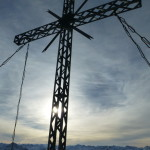 Rote Flüh - Gipfelkreuz
