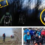 24 Stunden Winterwanderung 2014 auf der schwäbischen Alb