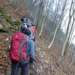 Alb 24 Winter 2014 - Aufstieg zur Schildwacht