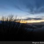 Alb 24 Winter 2014 - letztes Licht mit Naturschauspiel