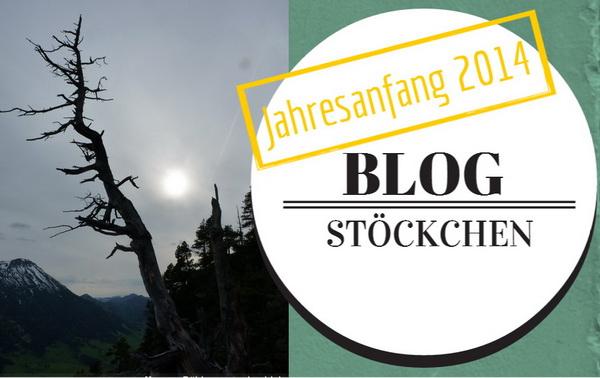 Blog Stöckchen Jahresanfang 2014