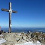 am Aggenstein-Gipfel