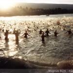 es geht los - 3,8 km Schwimmen im Pazifik