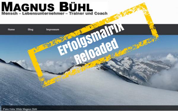 Magnus Bühl - der Blog Erfolgsmatrix Reloaded