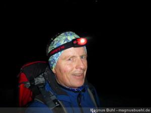 Wildspitze im Winter - Aufstieg bei Nacht