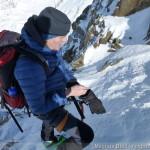 Wildspitze im Winter - die letzten Meter im SW-Grat