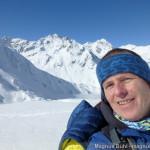 Wildspitze im Winter - am Taschachferner