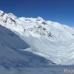 Wildspitze im Winter - Abfahrt durchs Taschachtal