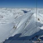 Wildspitze im Winter - Blick nach Norden zum Nordgipfel