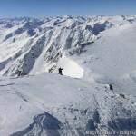 Wildspitze im Winter - im Südwestgrat