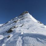Wildspitze im Winter - im Südwestgrat, geht nur mit Steigeisen gut