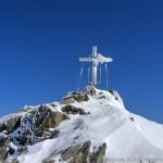 Wildspitze im Winter - die letzten Meter zum Gipfel
