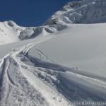 Wildspitze im Winter - Abfahrt über den Taschachferner