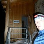 Braunschweiger Hütte Winterraum - da geht's rein