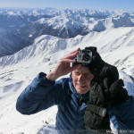 Hintere Schwärze - Magnus Bühl am Gipfel