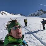 Hintere Schwärze - noch auf der Rampe zum Gipfel