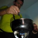 Hintere Schwärze - Gourmet-Küche im Winterraum - Chefkoch Jens