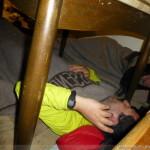 Hintere Schwärze - die Besten Plätze im Winterraum der Martin-Busch-Hütte
