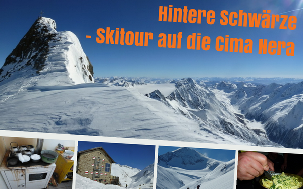 Hintere Schwärze - Skitour auf die Cima Nera