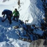Hintere Schwärze - im Abstieg am Westgrat