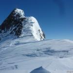 Hintere Schwärze - Gipfelsattel und Westgrat