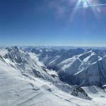 Hintere Schwärze - Gipfelsattel mit Blick nach Süden