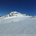 Hintere Schwärze rechts, Mutmalspitze in der Mitte und das riesige Gletscherbecken