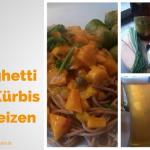 Spaghetti mit Kürbis in Weizenbier – Vegan