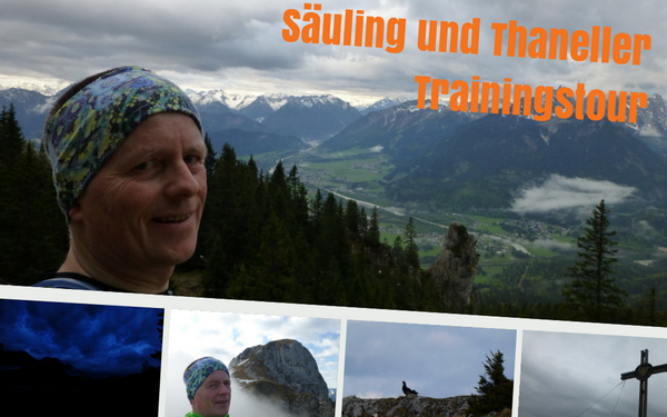 Säuling und Thaneller - Trainingstour