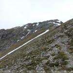 Thaneller .. letzte Meter zum Gipfel