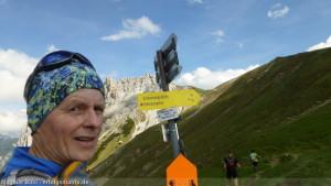 Zugspitz Ultratrail - fast Halbzeit am Scharnitzjoch