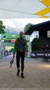 Zugspitz Ultratrail - im Ziel nach 22:25 Stunden