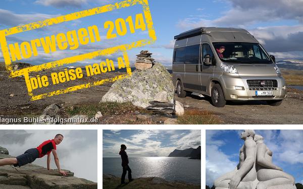 Norwegen 2014 - unsere Reise nach A