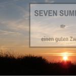 SEVEN SUMMITS für einen guten Zweck