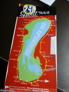 Roadmap der Burgenland Extremtour