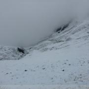 Zugspitz Ultratrail - Scharnitzjoch (2.048m) im Juni-Schnee