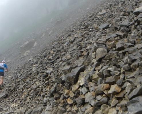 Walser Ultratrail - Aufstieg zum Hohen Ifen