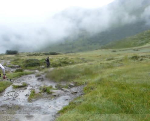 Walser Ultratrail - an der Schwarzwasserhütte
