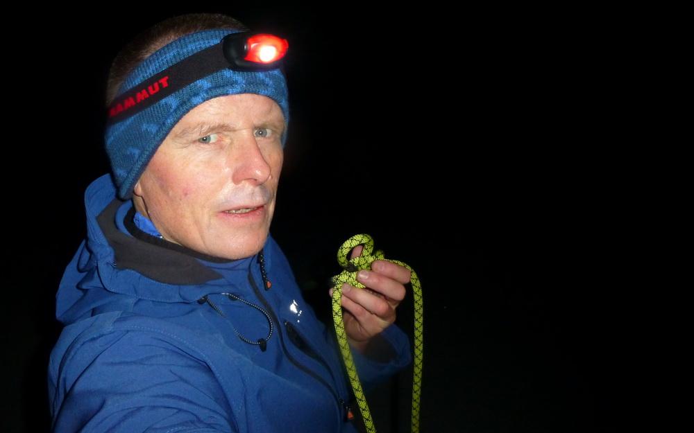 Magnus Bühl als Seilparter