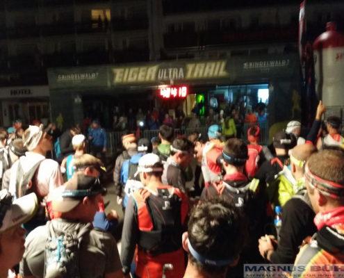 Noch 5 min bis zum Start des Eigerultratrail 2016