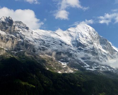 Der Eiger im Panorama