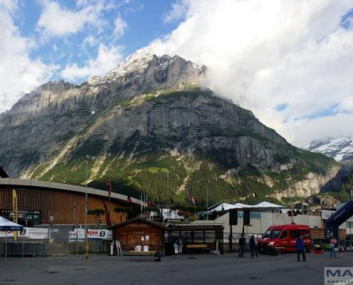 Start- und Zielgelände des Eigerultratrail