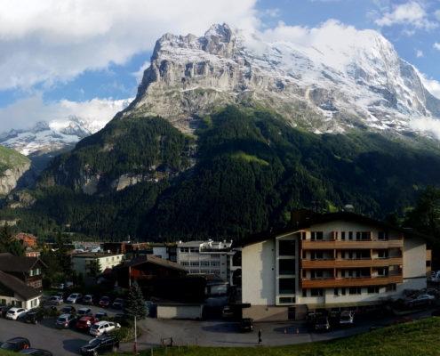 Grindelwald mit den Eiger