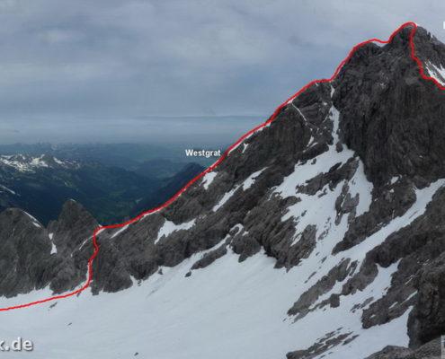 Hochfrottspitze Route