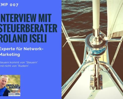 Interview mit Steuerberater Roland Iseli - EMP007