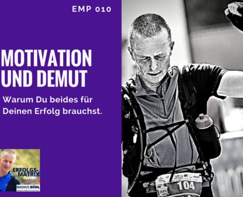 Motivation und Demut
